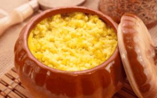 каша из тыквы с пшеном рецепты