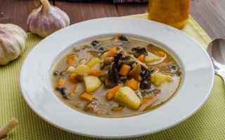 Как варить суп из шампиньонов свежих