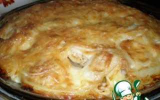 Запеканка из цветной капусты и картофеля со сливками