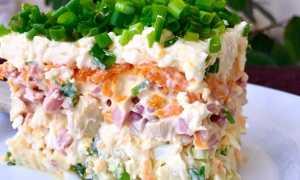 салаты с грибами рецепты простые