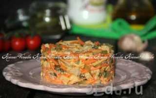 салат лисичка рецепт с курицей