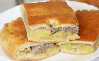 начинка для пирога из фарша и картофеля