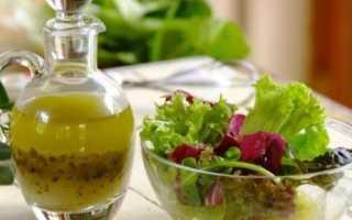 заправка из соевого соуса для овощного салата