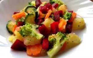 салат из вареных овощей рецепты 5 класс