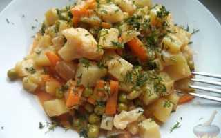 как сварить овощное рагу