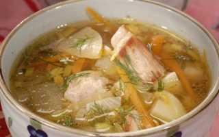 суп из свинины рецепты