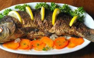 рецепт запекания сазана в духовке