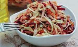 салат из сырой моркови рецепт