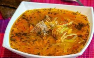 как приготовить суп с пшеном