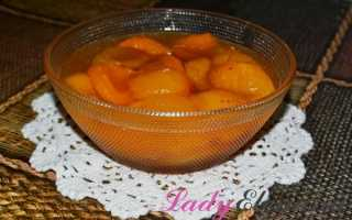 Варенье абрикосовое с целыми дольками абрикоса