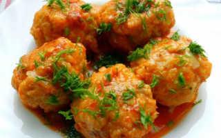 Вкусные тефтели с овощной подливкой