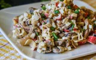 вкусный салат из морепродуктов рецепты