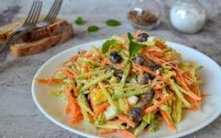 рецепты салатов из грибов