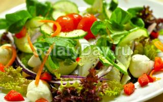 салат сыроежка из сырых овощей