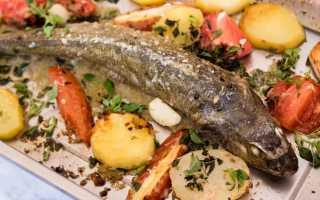 самая вкусная рыба для запекания