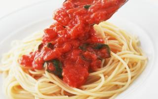 макароны в томатной пасте
