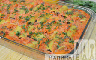 макароны фаршированные фаршем в духовке рецепт