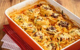 макароны гнезда рецепты приготовления в духовке