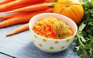 морковный салат без майонеза