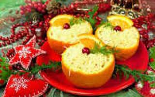 салат с апельсином и куриной грудкой