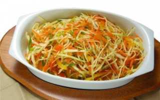 салат из капусты яблока и моркови