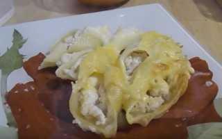 макароны начиненные фаршем в духовке