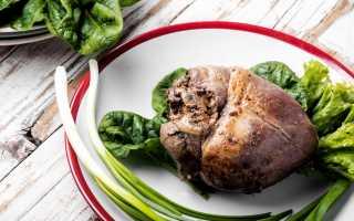 салат из свиного сердца рецепт простой