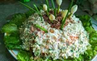 салат из печени и моркови с луком