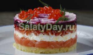 салат под шубой с семгой