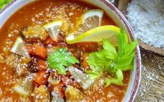 суп с томатом