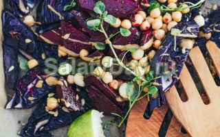 салат из капусты с морковью и свеклой