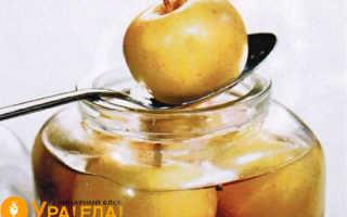 Самый простой рецепт моченых яблок в банках
