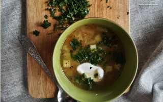 Рецепт супа с кабачками и вермишелью