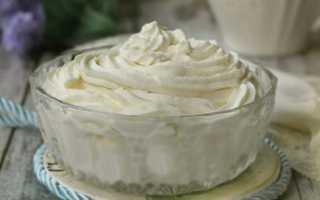 Можно ли сделать крем из мороженого