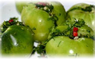 Можно ли есть дозревшие зеленые помидоры