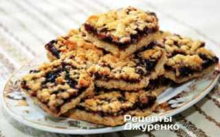 Песочное печенье домашнее простые вкусные