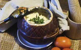 рыба в горшочке в духовке с картошкой