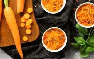 салат с картошкой и морковкой отварной
