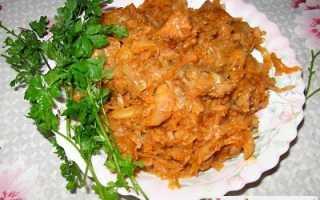 солянка с рисом и капустой