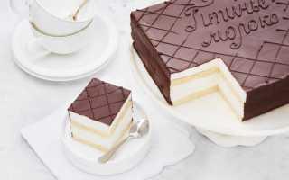 История блюда торт Птичье молоко