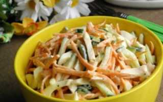 салат картошка морковь