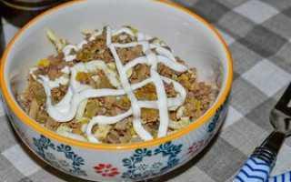 салаты из куриной печени рецепты