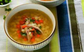 суп из индюшки как приготовить