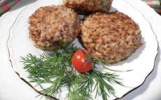 рецепт котлет из гречки и картофеля