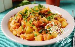 Рецепт как вкусно потушить капусту с картошкой