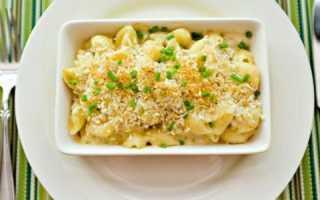 макароны с плавленным сыром хохланд