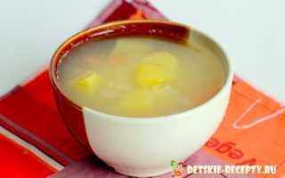 суп из пшенки