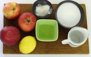Рецепт зефира из яблочного пюре и агара