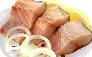 как засолить масляную рыбу в домашних условиях